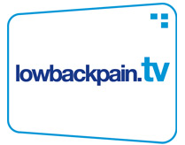 Lowbackpain.tv - innovative new webiste at www.lowbackpain.tv